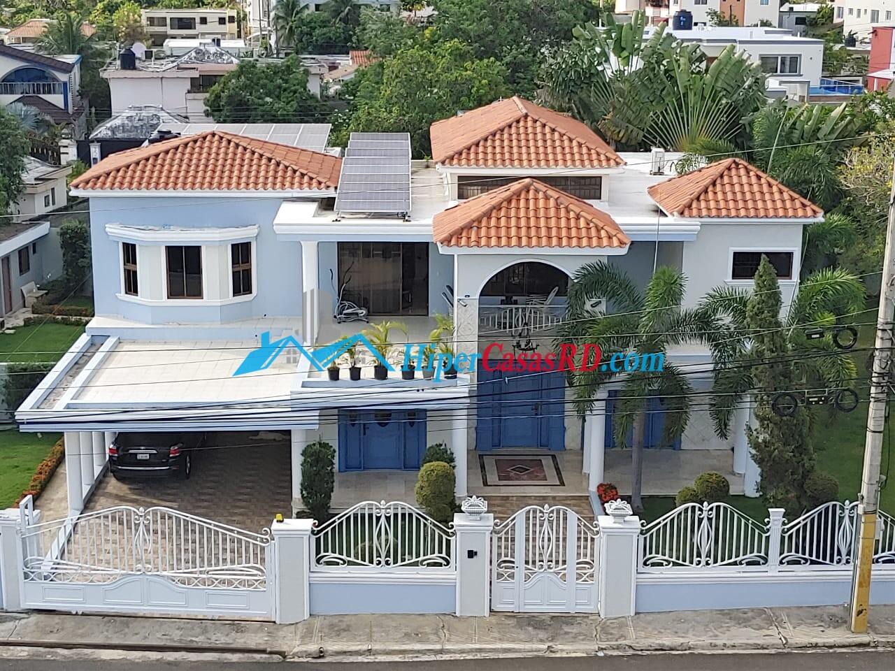 Hermosa casa en San Fco. De Macoris