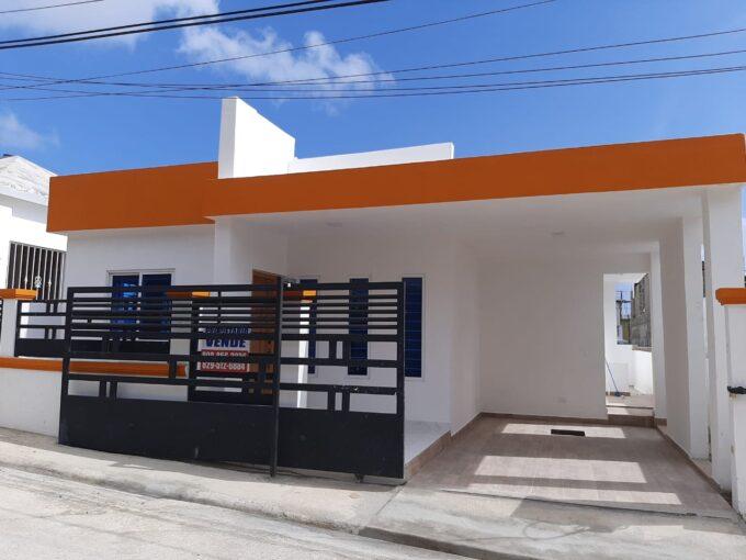 De venta en residencial de Puerto plata esta excelente casa Totalmente nueva
